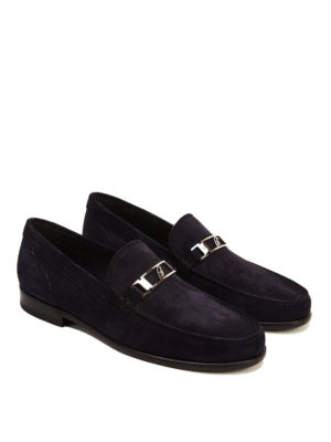 Brioni: Loafers & Slippers online - Suede loafers