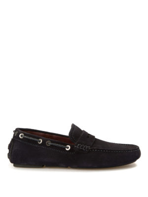 Brioni: Loafers & Slippers - Suede car shoes