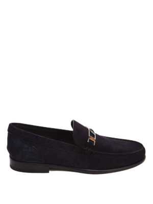 Brioni: Loafers & Slippers - Suede loafers