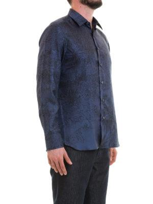 BRIONI: camicie online - Camicia in seta stampata