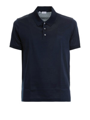 Brioni: polo shirts - Cotton pique polo shirt