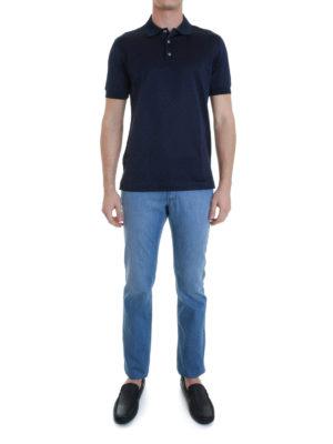Brioni: polo shirts online - Cotton polo