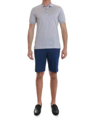 Brioni: polo shirts online - Cotton polo shirt