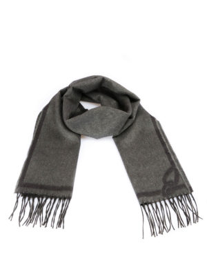 Brioni: scarves - Silk and cashmere scarf