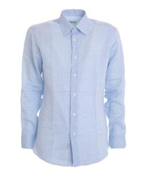 Brioni: shirts - Linen shirt