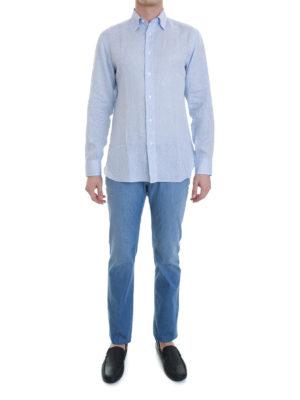 Brioni: shirts online - Linen shirt