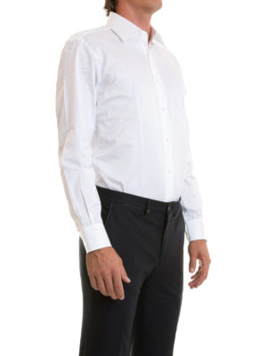 Brioni: shirts online - Spread collar classic shirt