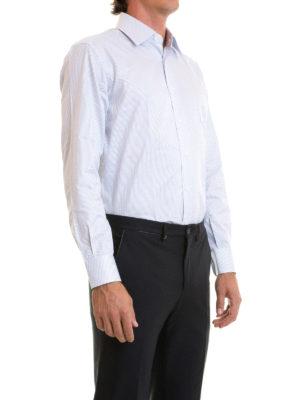 Brioni: shirts online - Striped cotton classic shirt