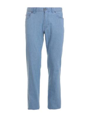 Brioni: straight leg jeans - Five pocket jeans