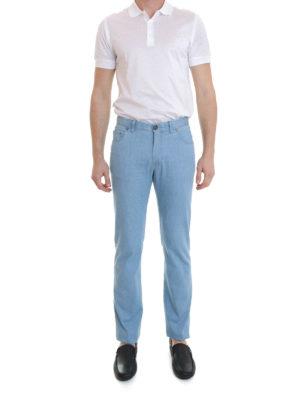 Brioni: straight leg jeans online - Five pocket jeans