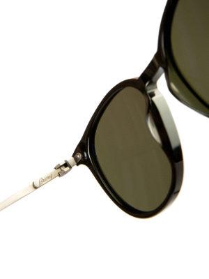 Brioni: sunglasses online - Black acetate sunglasses