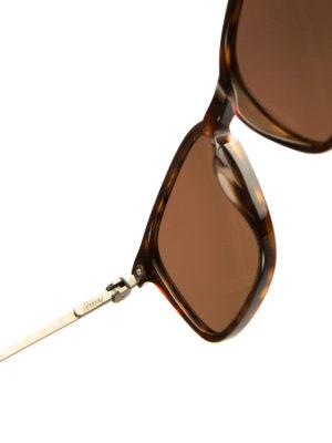 Brioni: sunglasses online - Tortoise square sunglasses