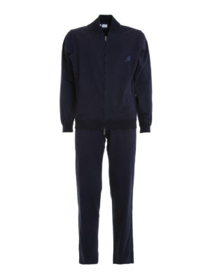 Brioni: Sweatshirts & Sweaters - Contrasting band tracksuit