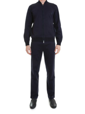Brioni: Sweatshirts & Sweaters online - Contrasting band tracksuit