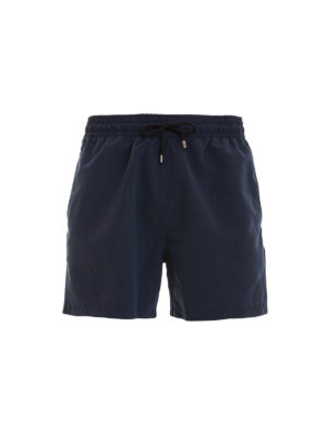 Brioni: Swim shorts & swimming trunks - Swim shorts with logo embroidery