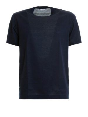 Brioni: t-shirts - Crew neck cotton T-shirt