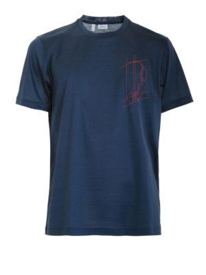 Brioni: t-shirts - Logo T-shirt