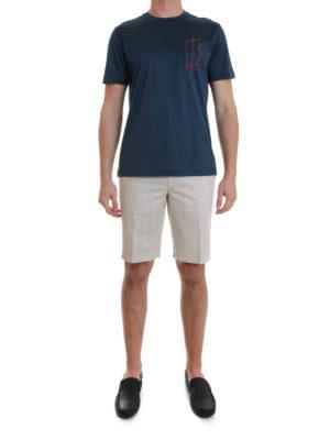 Brioni: t-shirts online - Logo T-shirt