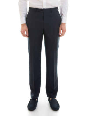 Brioni: Tailored & Formal trousers online - Virgin wool tailored trousers