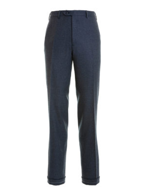 Brioni: Tailored & Formal trousers - Tigullio wool tailored trousers
