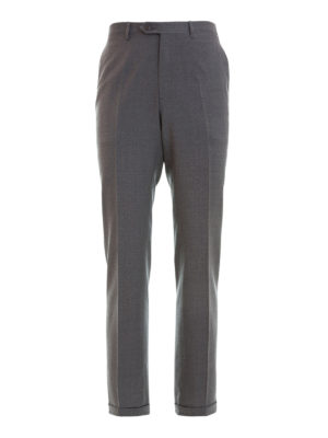 Brioni: Tailored & Formal trousers - Virgin wool tailored trousers
