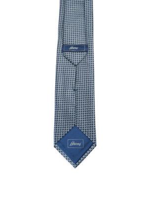 Brioni: ties & bow ties online - Geometric pattern silk tie