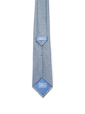 Brioni: ties & bow ties online - Optical pattern silk tie