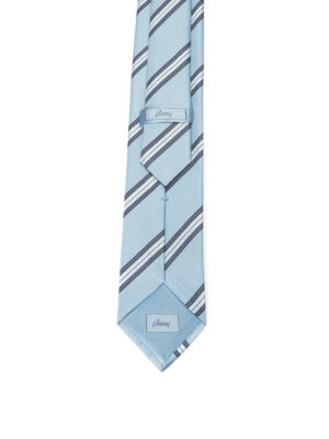 Brioni: ties & bow ties online - Regimental silk tie