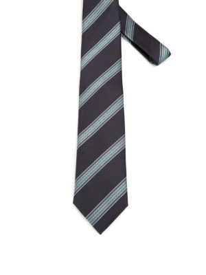 Brioni: ties & bow ties - Regimental silk tie