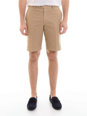 Brioni: Trousers Shorts online - Chino-style cotton shorts
