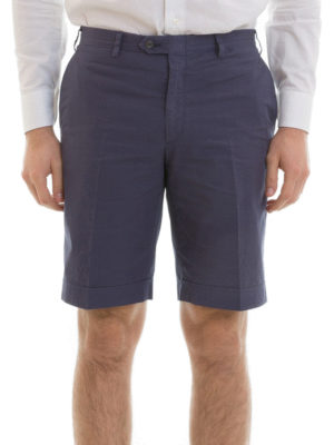 Brioni: Trousers Shorts online - Cotton tailored shorts