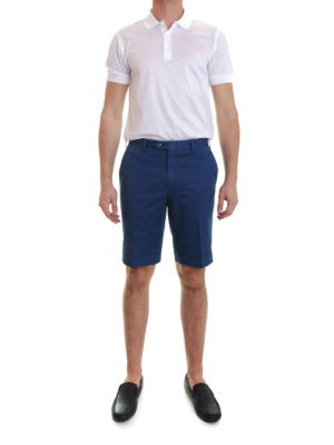 Brioni: Trousers Shorts online - Shorts with turn-ups