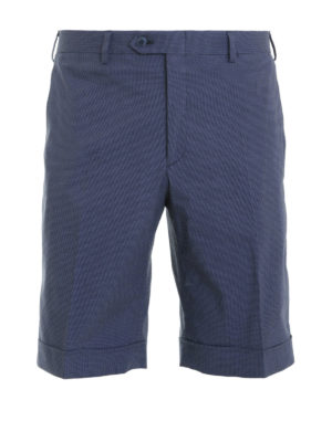 Brioni: Trousers Shorts - Shorts with turn-ups