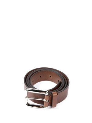 Brunello Cucinelli: belts - Calf leather belt