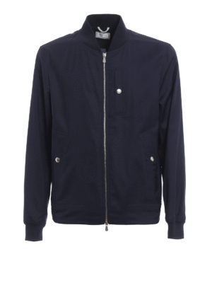 Brunello Cucinelli: bombers - Water-resistant bomber jacket