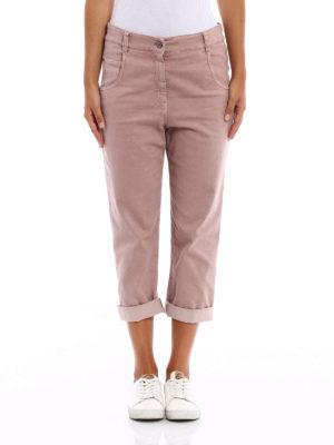 Brunello Cucinelli: Boyfriend online - Technic cotton Tomboy jeans