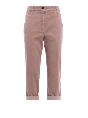 Brunello Cucinelli: Boyfriend - Technic cotton Tomboy jeans