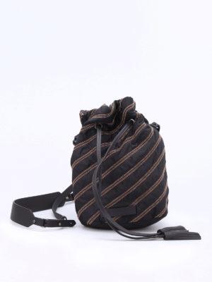 Brunello Cucinelli: Bucket bags - Embellished bucket bag