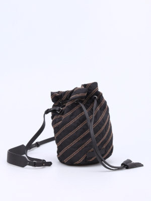 Brunello Cucinelli: Bucket bags online - Embellished bucket bag