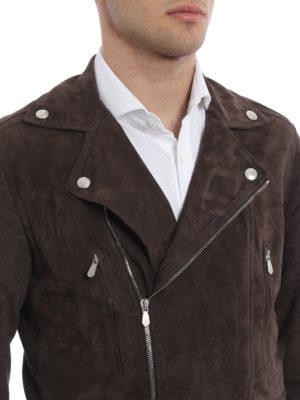 Brunello Cucinelli buy online Suede biker jacket