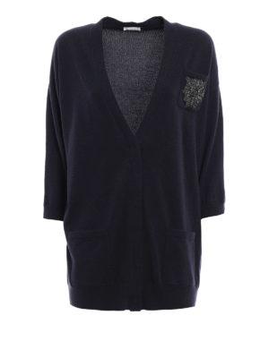 Brunello Cucinelli: cardigans - Jewel cashmere cardigan