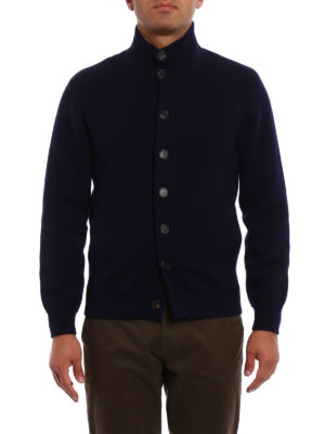 Brunello Cucinelli: cardigans online - Cashmere jersey buttoned cardigan