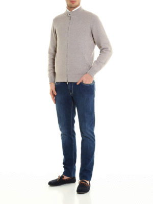 Brunello Cucinelli: cardigans online - Zipped cardigan