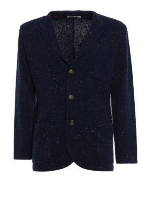 Brunello Cucinelli: cardigans - Wool and cashmere melange cardigan