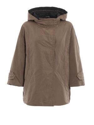 BRUNELLO CUCINELLI: giacche casual - Giacca in tecno taffetà leggermente imbottita