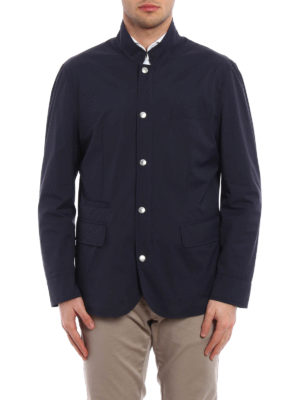 Brunello Cucinelli: casual jackets online - Waterproof nylon casual jacket