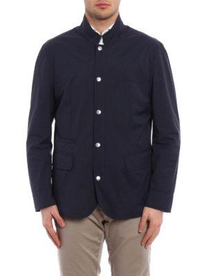 Brunello Cucinelli: casual jackets online - Waterproof nylon casual jacket