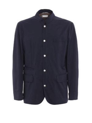 Brunello Cucinelli: casual jackets - Waterproof nylon casual jacket