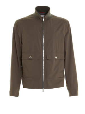 Brunello Cucinelli: casual jackets - Waterproof nylon jacket