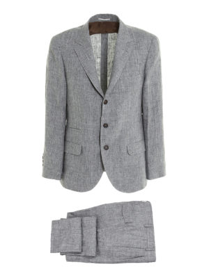 Brunello Cucinelli: casual suits - Linen two-piece suit